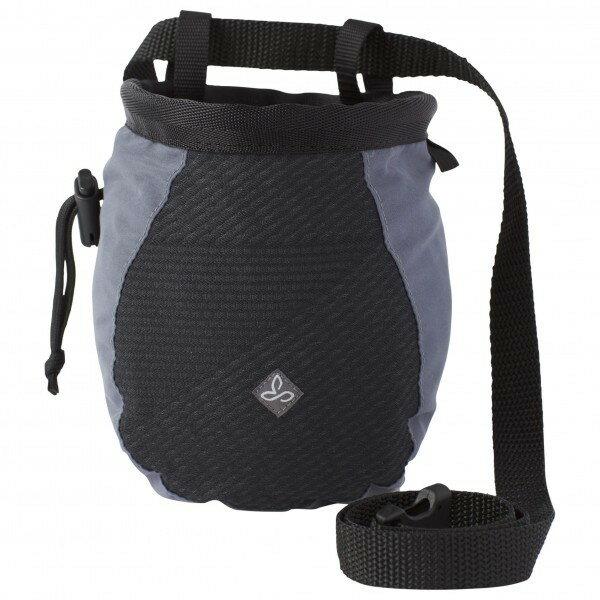 PRANA プラナ Large Chalk Bag W/Belt チョークバッグ レディース(Black Geo)★チョークバック・クライミング・チョークバッグ・ボルダリング★