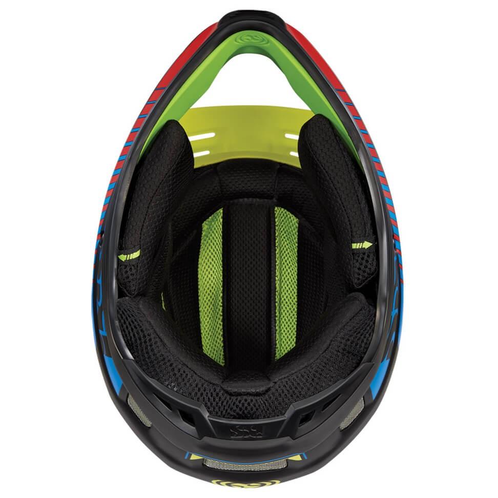 IXS イクス XULT Helmet(Black / Blue / Lime)