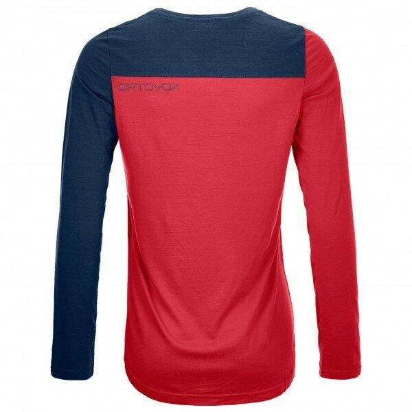 オルトボックス 150 Cool Logo ロングスリーブ Tシャツ レディース(Hot Coral)