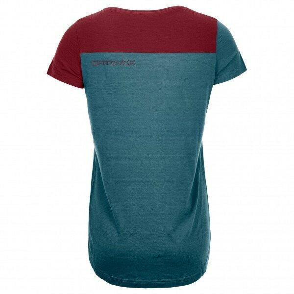 オルトボックス 150 Cool Logo Tシャツ レディース(Mid Aqua)