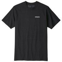 パタゴニアP-6LogoResponsibili-TeeTシャツ(Black)
