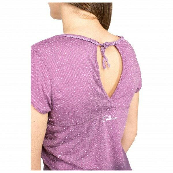 チラス Hide The Best Deer Logo Tシャツ レディース(Violet Dots)