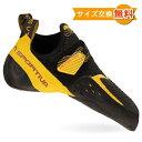 【 即納 】 スポルティバ ソリューション コンプ ( Black / Yellow ) ★ クライミングシューズ ★ ボルダリングシューズ