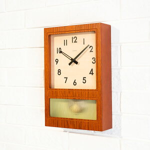 Wall Hook Benefits ★ Wall Clock Frosted Pendulum Clock [Wall Clock Table Clock Combined Clock Fashionable Mid Century Retro Showa Pendulum Wood-like Antique Nordic Cafe Interior Design Present Birthday Wedding Celebration Telework Telecommuting