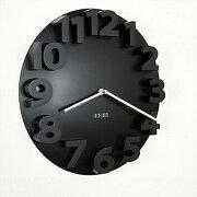 掛け時計 ラウンドロックウォールクロック アナログ ブランド シンプル プレゼント おしゃれ テイスト インテリア