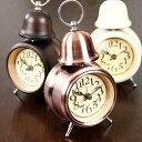 【無料ラッピング対応!】【レトロ で小ぶりな 目覚まし時計 。とってもお洒落でギフトにお勧め...