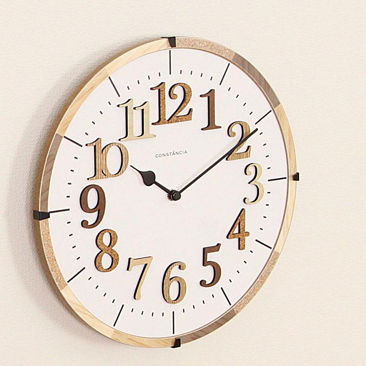 電波掛け時計 ティール[TIEL] CL-9706 インターフォルム【電波時計 壁掛け時計 掛け時計 おしゃれ 掛時計 壁時計 時計 壁掛け 北欧 木製 おしゃれ インテリア雑貨 インテリア 雑貨 ナチュラルテイスト かわいい プレゼント 彼氏 彼女 誕生日 新築祝い】