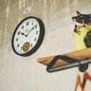 100円クーポン利用可★【送料無料】壁掛けフック特典有★掛け時計 ポートジャービス CL-2130 インターフォルム【壁掛け時計 壁時計 壁掛時計 時計 壁掛け インテリア 雑貨 レトロ シック アンティーク シンプル メンズ レディース おしゃれ クリスマスプレゼント ギフト】