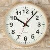 掛け時計ノルンMKATOMOKUkm-42Mスイープムーブメント【静音音がしない壁掛け時計デザイン壁掛け時計北欧テイストシンプルおしゃれウッド木製曲げわっぱ連続秒針モダン静かスムーズ秒針インテリア時計結婚祝いプレゼント】