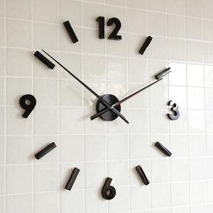 掛け時計 セパレート クロック インテリア アナログ シンプル ナチュラル おしゃれ マグネット テイスト ウォール バレンタイン プレゼント