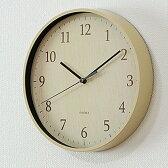 掛け時計 フォレストランド W-545【時計 壁掛け 掛時計 連続秒針 スイープ 静音 壁掛け時計 おしゃれ 音がしない ナチュラル ギフト 入学祝い 誕生日 北欧 モダン 和モダン 和風 シンプル インテリア時計 壁時計 スイープムーブメント 玄関 プレゼント|熨斗】