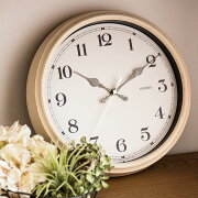 ポイント 掛け時計 エアリアルレトロ アナログ シンプル デザイン アンティーク ガーリー 子供部屋 おしゃれ ウォール クロック プレゼント