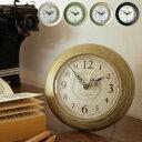 掛け時計 置き時計 ショコラ タン[Chocolat temps]【壁掛け時計 掛時計 時計 壁掛け インテリア時計 雑貨 置時計・掛け時計 卓上 掛け 置き 両用 アンティーク おしゃれ ギフト クリスマスプレゼント 小さい 小さめ かわいい 可愛い クロック 壁時計 買い回り】