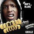 Niv's Bling 14Kゴールド カスタム 8 Tooth トップ&ボトムセット - 14k Gold Custom 8 Tooth Top Bottom GRILLZ Bling Mouth Teeth Caps Hip Hop Grill -着ける金歯