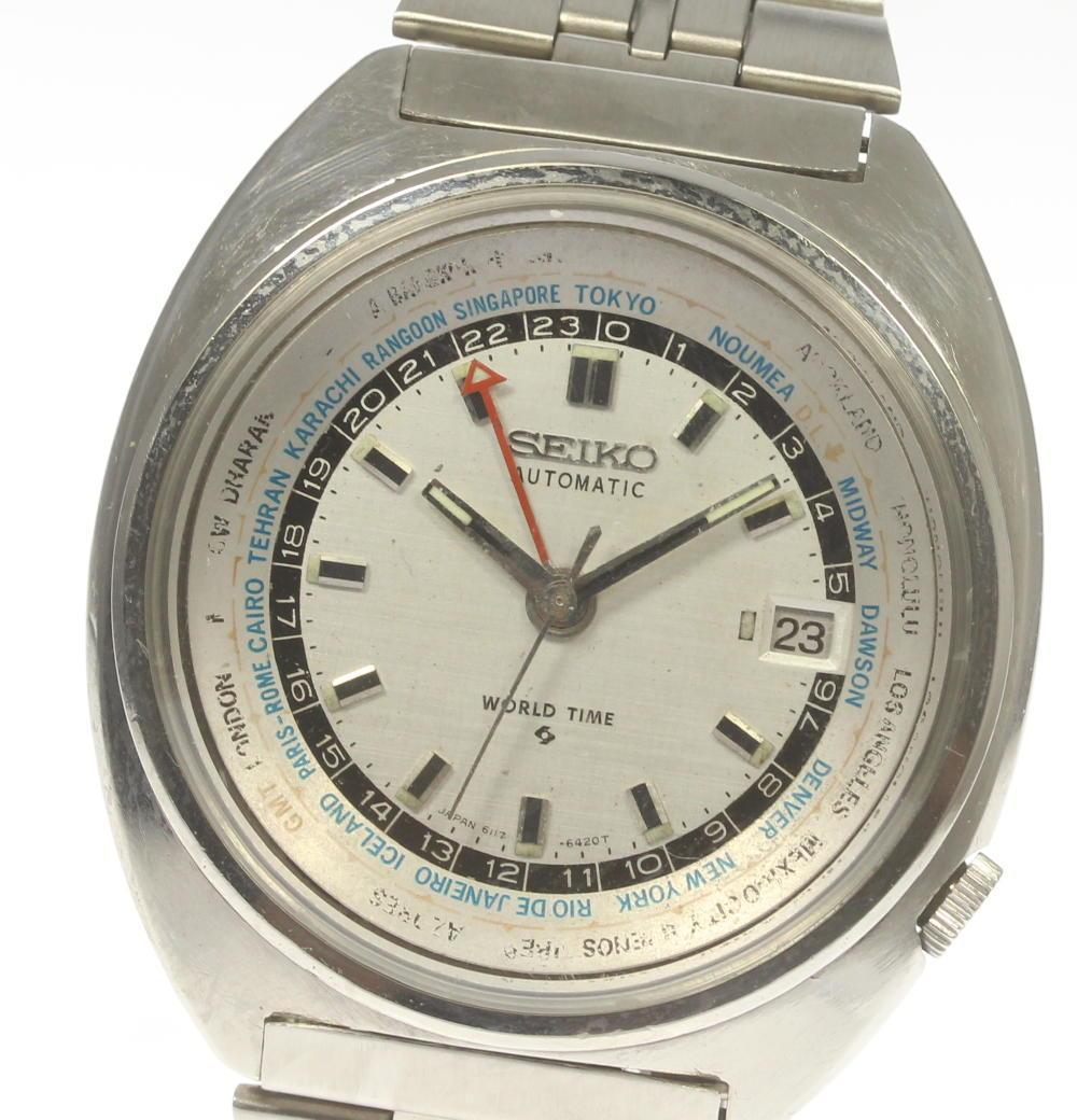 腕時計, メンズ腕時計 SEIKO 3rd 6117-6400 Cal.6117B ev05