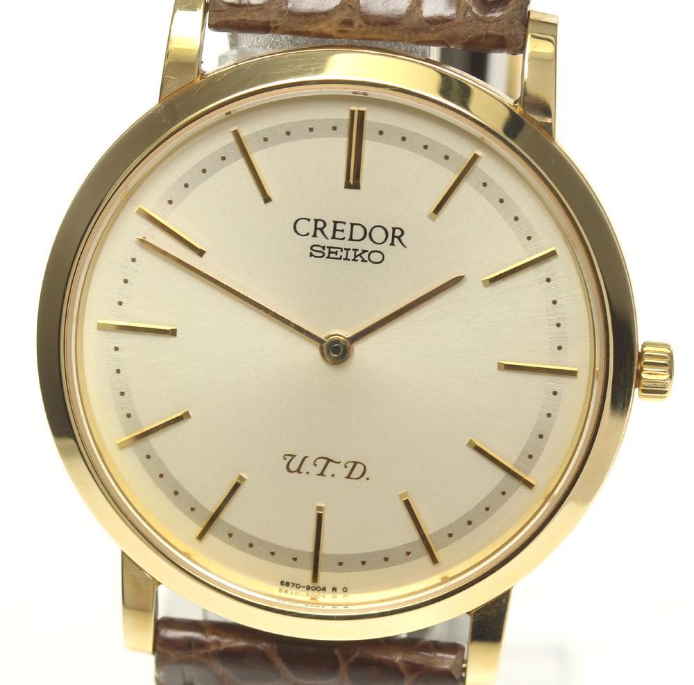 腕時計, メンズ腕時計  SEIKO K18YG 120th 6870-0010 GBAQ986