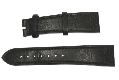 【ZENITH】ゼニス ラグ幅22ミリ ローリング・ストーンズ ブラック 腕時計用 ラバーベルト【ev10】【中古】