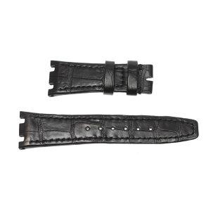 [AUDEMARS PIGUET] Коврик Audemars Piguet ширина 21 / 16мм Черный кожаный ремень для наручных часов [ev05]