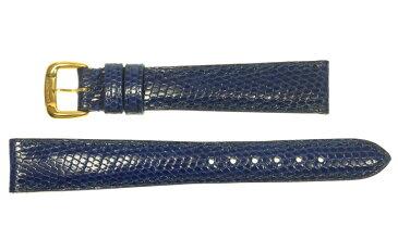 【Chaumet】ショーメ ラグ幅15ミリ 腕時計用 革ベルト ブルー レディース【中古】