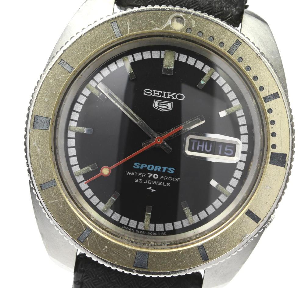 腕時計, メンズ腕時計 SEIKO 5 5126-8090