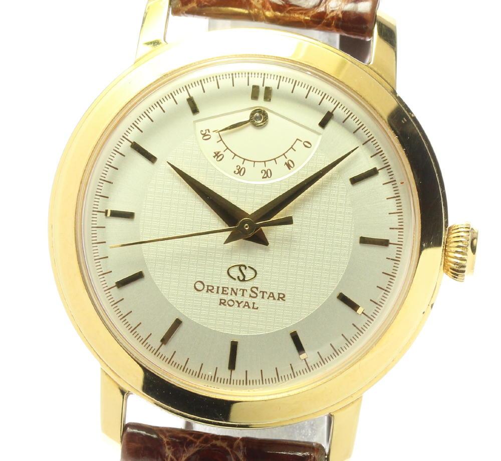 腕時計, メンズ腕時計 ORIENT 18K EG00-A0