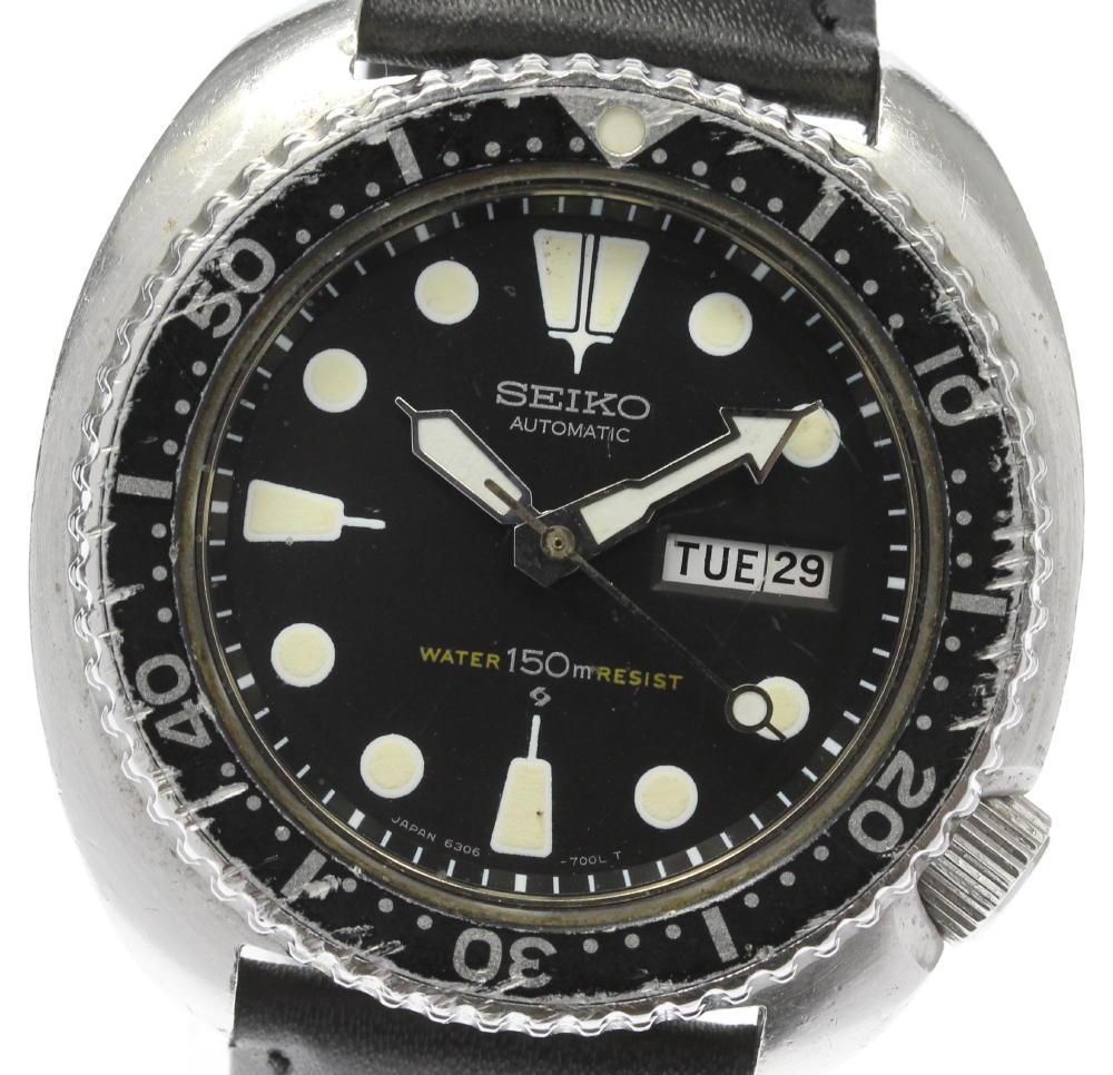 腕時計, メンズ腕時計 SEIKO 150m 6306-7001 ev10