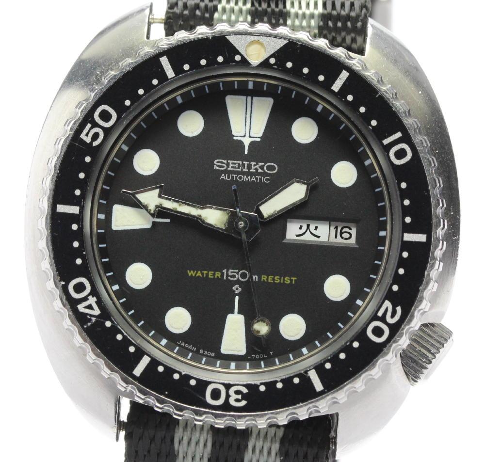 腕時計, メンズ腕時計 SEIKO 3rd 150m 6306-7001 ev10