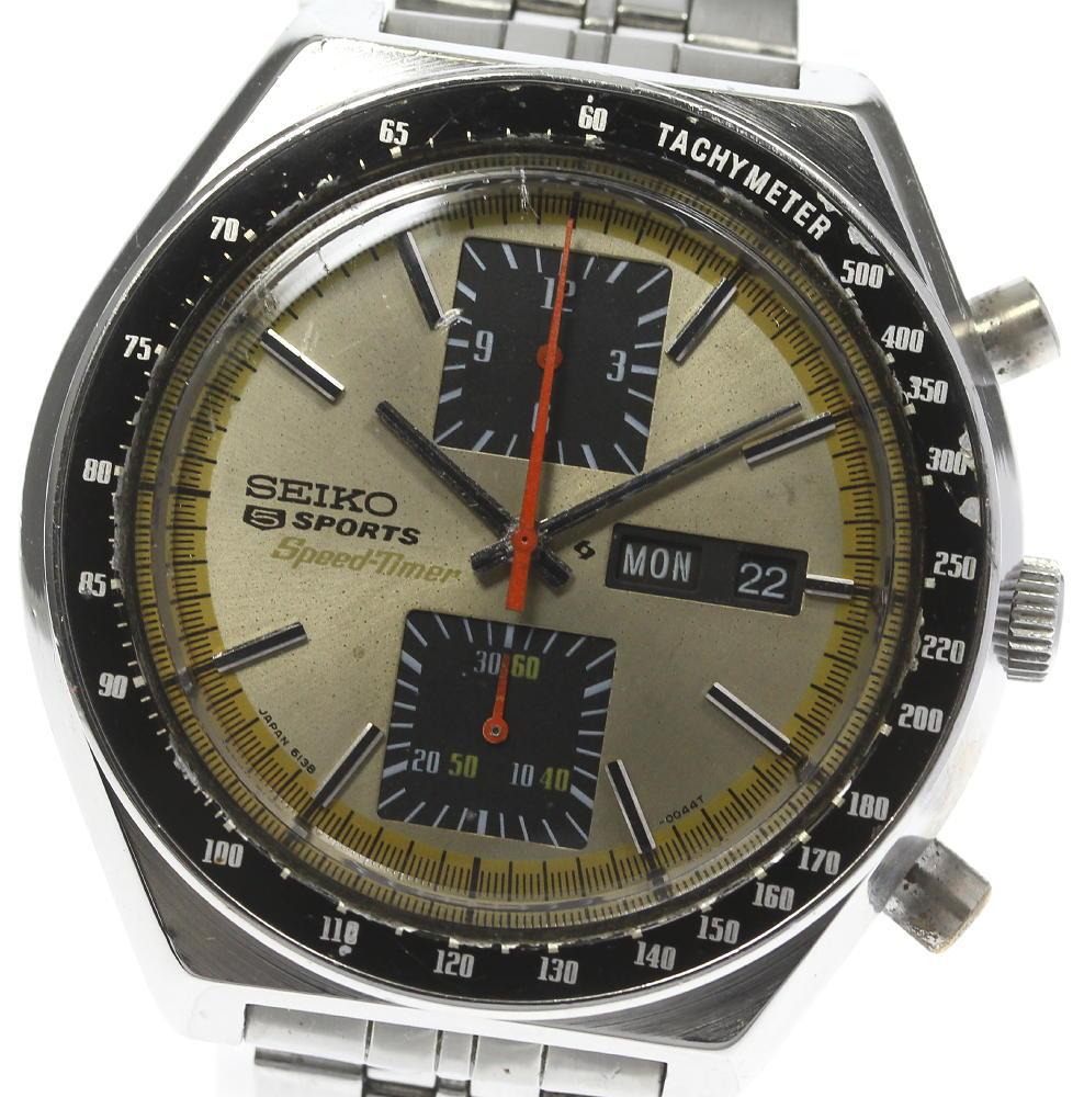腕時計, メンズ腕時計 SEIKO 5 6138-0030 ev10