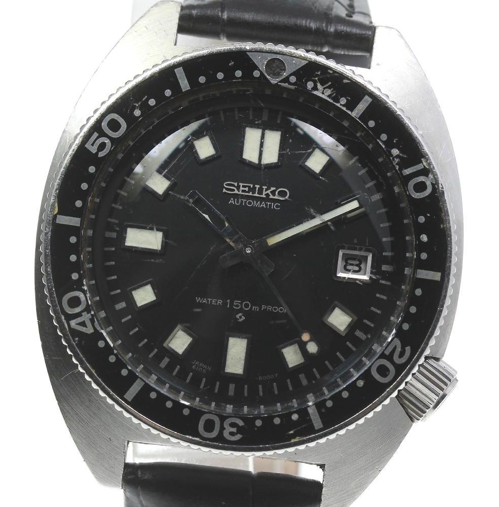 腕時計, メンズ腕時計 SEIKO 150M 2nd 6105-8000 cal.6105A