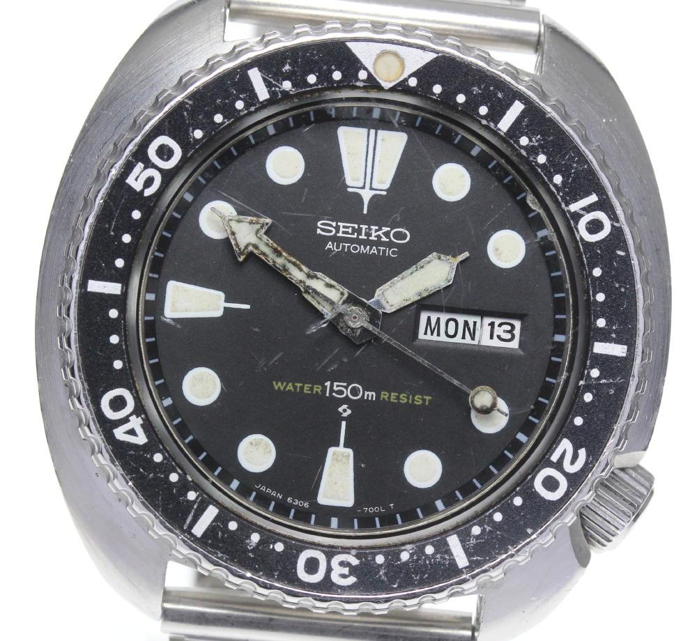 腕時計, メンズ腕時計 SEIKO 3rd 150m 6306-7001