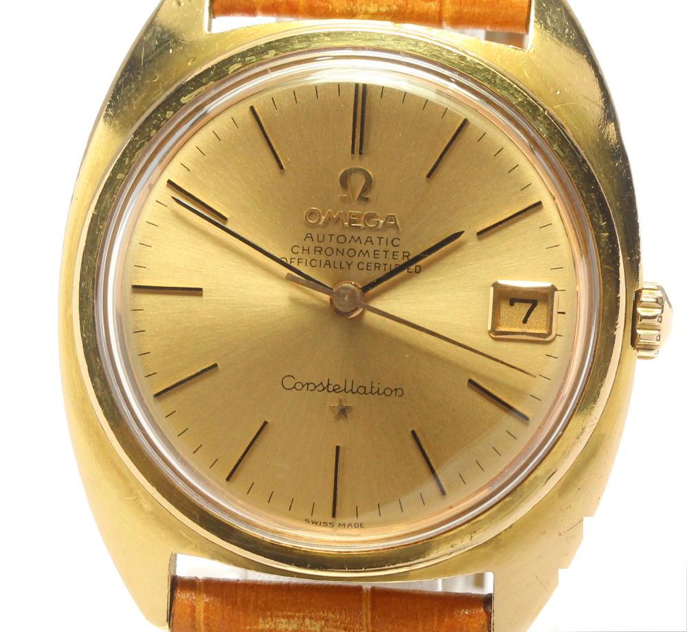 腕時計, メンズ腕時計 OMEGA K18YG cal.564