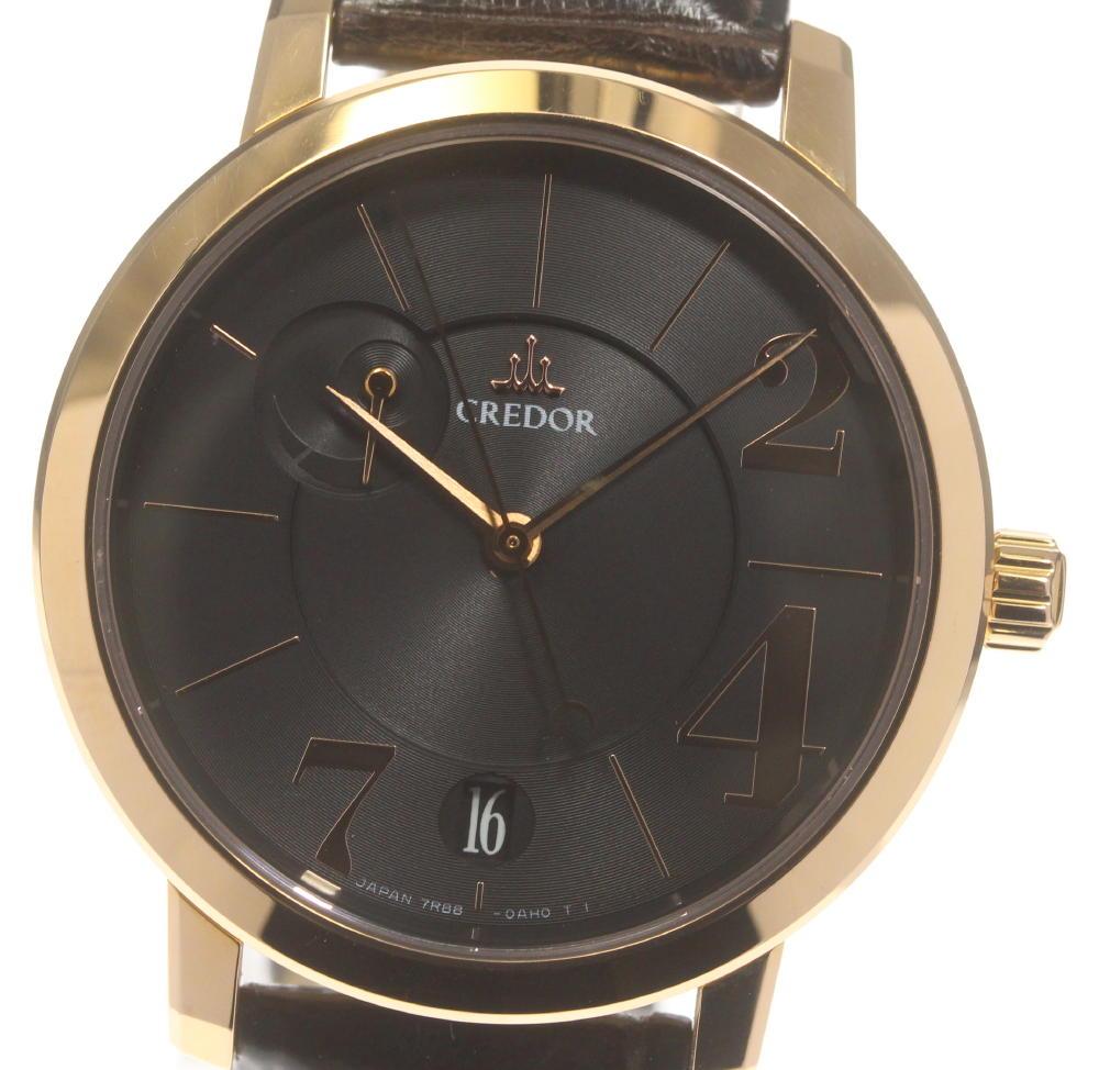 腕時計, メンズ腕時計 SEIKO K18PG GBLH996 7R88-0AF0