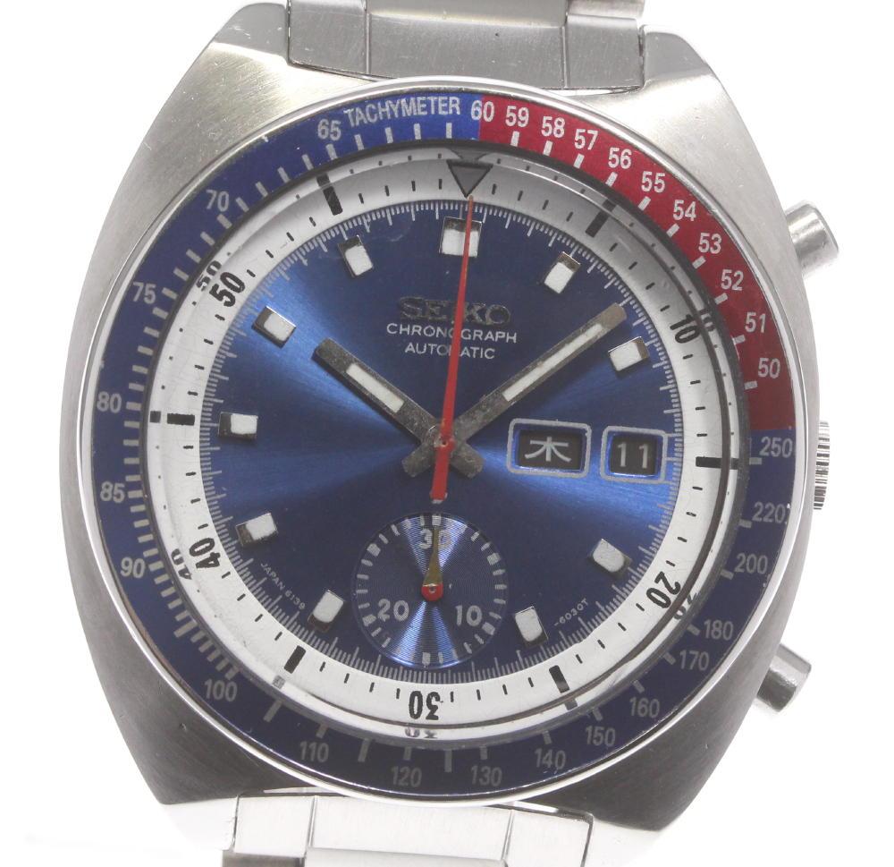 腕時計, メンズ腕時計 SEIKO 6139-6002 ev