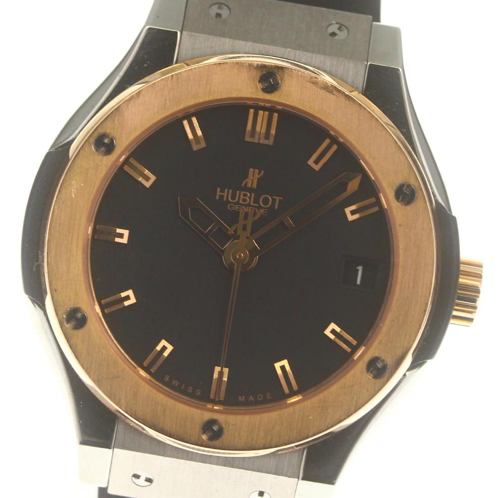 腕時計, レディース腕時計 HUBLOT K18PG 565.NX.1170.LR