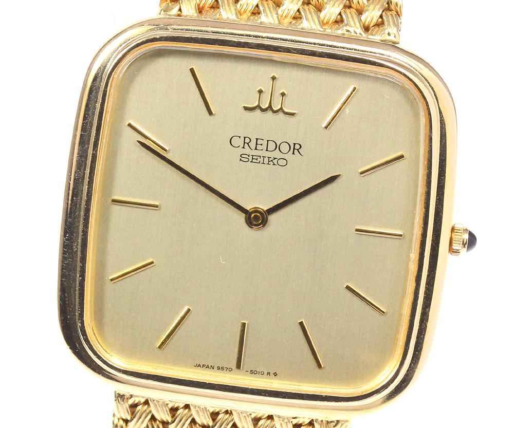 腕時計, メンズ腕時計 SEIKO K18YG 9570-5010