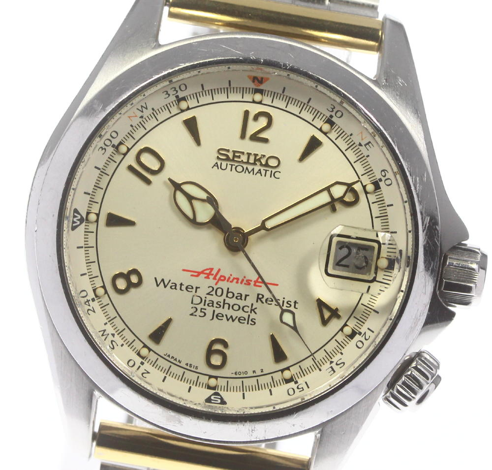 腕時計, メンズ腕時計 SEIKO 4S15-6000