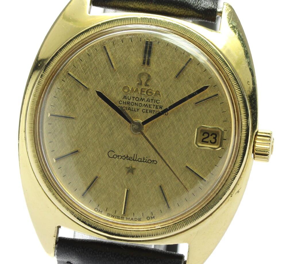 腕時計, メンズ腕時計 OMEGA K18YG 168009 cal.564
