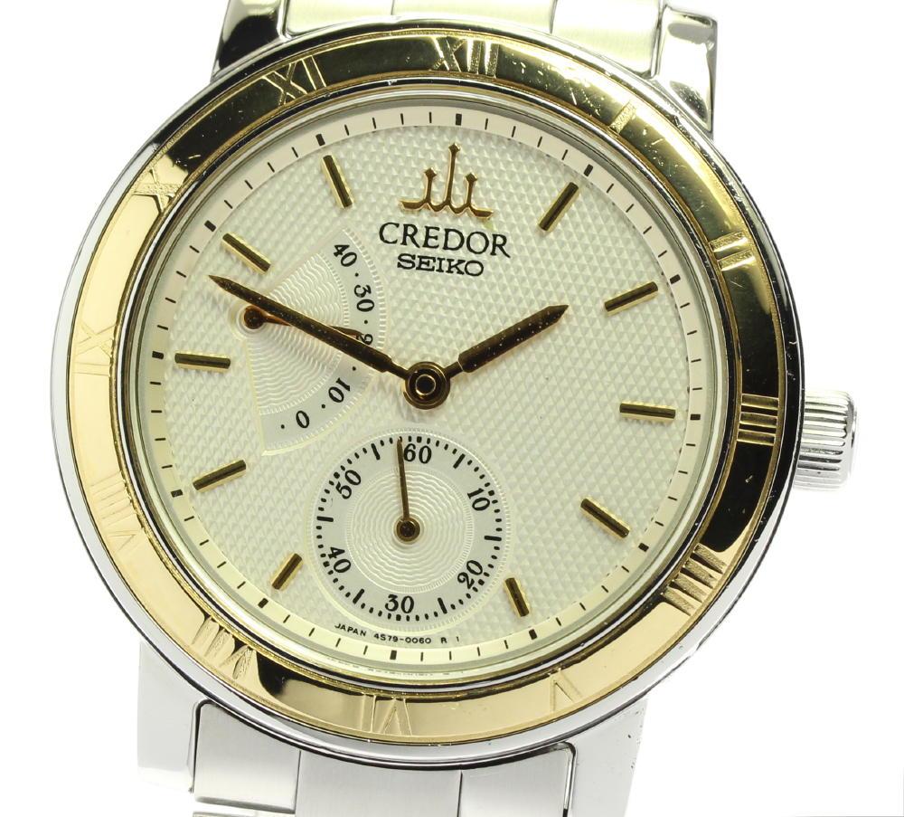 腕時計, メンズ腕時計 SEIKO 18YG 4S79-0020