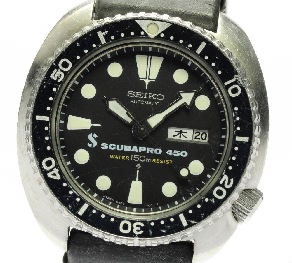 腕時計, メンズ腕時計 SEIKO 6306-7001