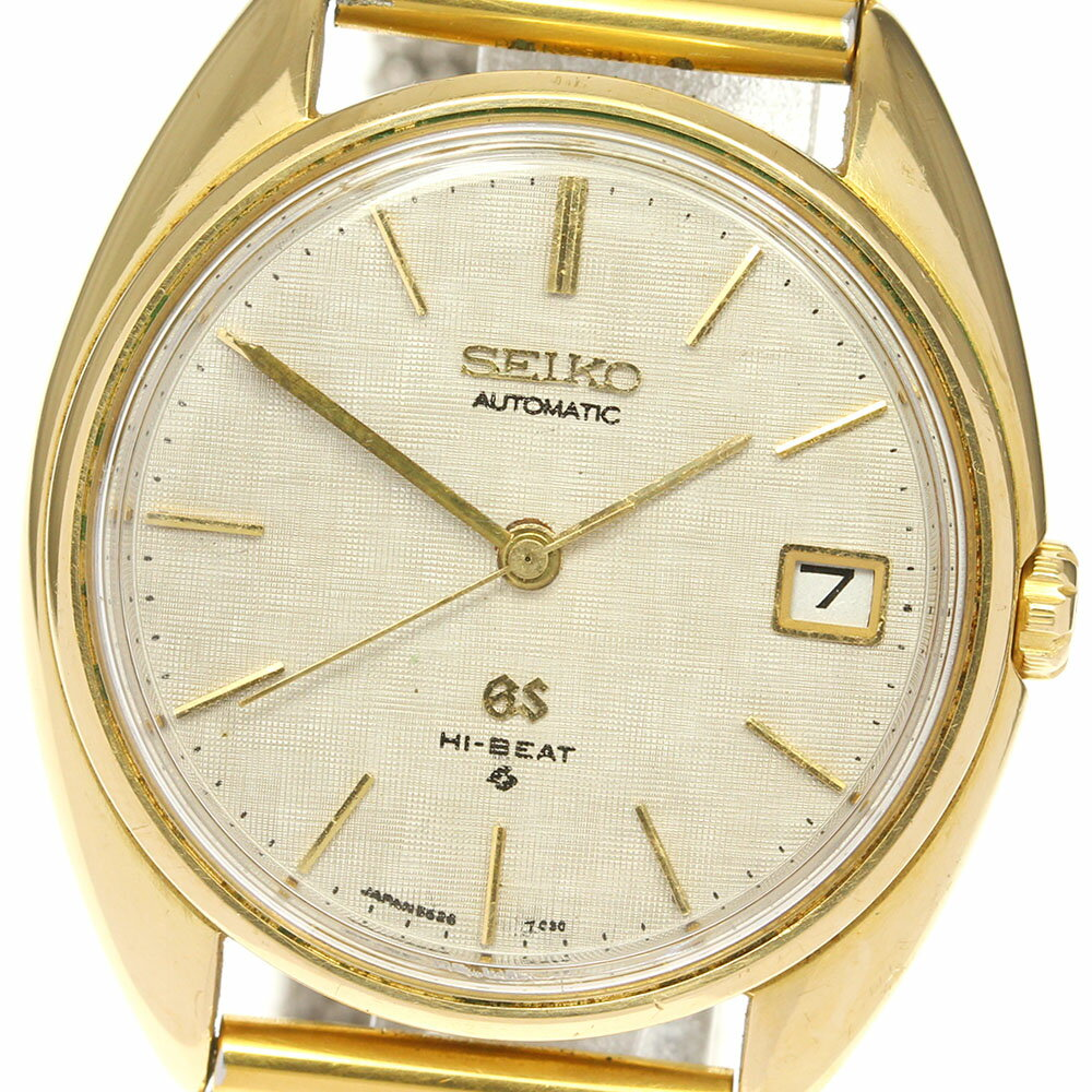 腕時計, メンズ腕時計 SEIKO K18YG cal.5645A 5645-7005