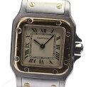 箱保【Cartier】 カルティエ サントスガルベSM W20012C4 YGコンビ Dバックル ク ...
