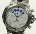※訳あり BVLGARI ブルガリ ディアゴノ スクーバ レガッタ SD40SRE SS/ラバー 自動巻き メンズ腕時計◆【中古】【190827】