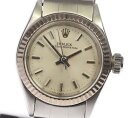 【ROLEX】ロレックス オイスターパーペチュアル 6619 自動巻き cal.1161 レディース腕時計◆【171005】