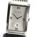 【GUCCI】グッチ 8900M QZ SS シルバー文字盤 メンズ腕時計【中古】【セール対象商品】