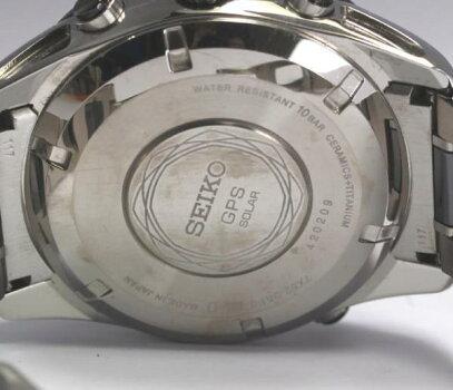 セイコーアストロン7X52-0AF0SBXA015GPS衛星電波ソーラー【中古】