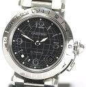 【Cartier】 カルティエ パシャC メリディアン GMT W31079M7 黒文字盤 腕回り約 ...
