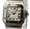 保証書付【Cartier】 カルティエ サントスガルベ SM W20054D6 自動巻き レディース ...