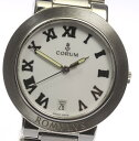 【CORUM】 コルム ロムロス 63.171.20 デイト クォーツ...