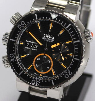 【ORIS】オリスカルロス・コステクロノ2000本限定7598AT◎【中古】