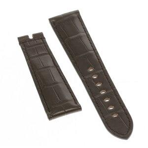 ★Unused item★ [BREGUET] Breguet rug width 22 mm Brown leather belt for wrist watch [ev05a]